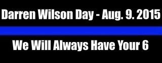 'DARREN WILSON DAY':   CoMo Police Officers' Association under fire for Facebook post honoring Ferguson cop