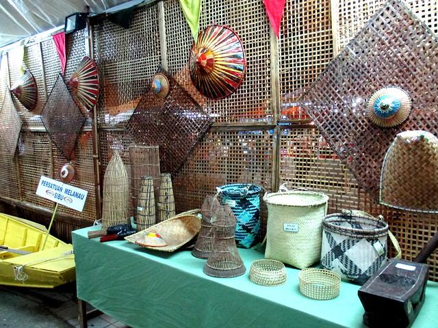 Melanau Association's booth 1