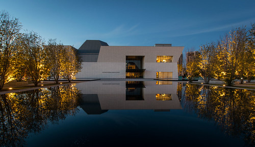 toronto reflection architecture modern night buildings evening twilight pools agakhanmuseum