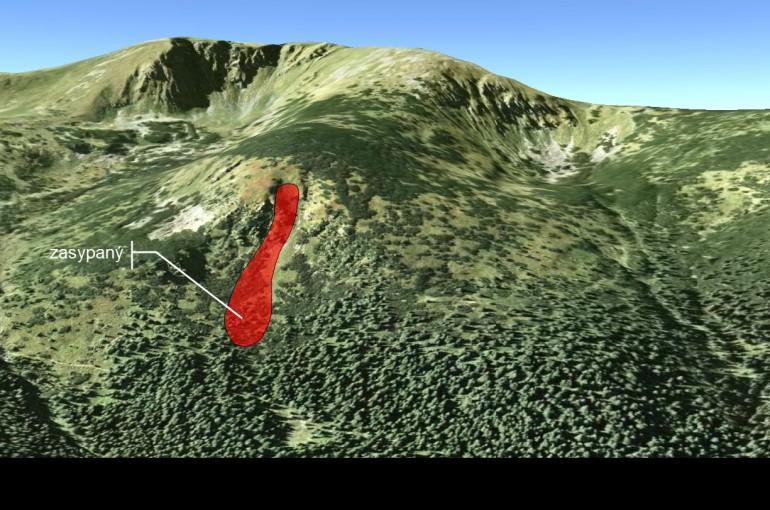 Spoveď lavinou zasypaného lyžiara pod Chabencom
