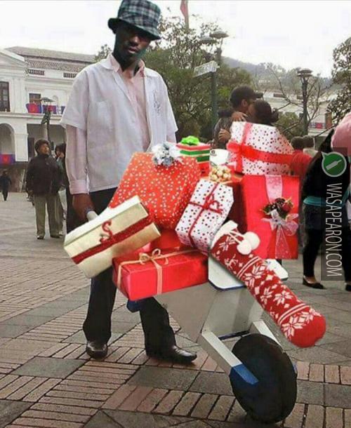 Feliz Navidad Te Desea El Negro