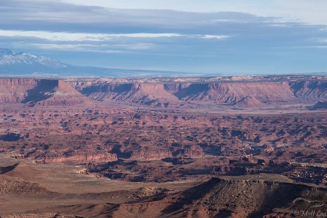 Canyonlands and La Sal Mountains