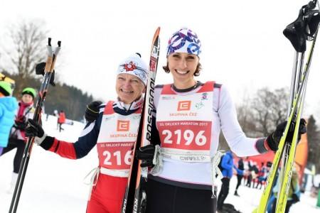 Orlický maraton hlásí rekordní účast. Vyhráli Radek Šretr a Kamila Bořutová