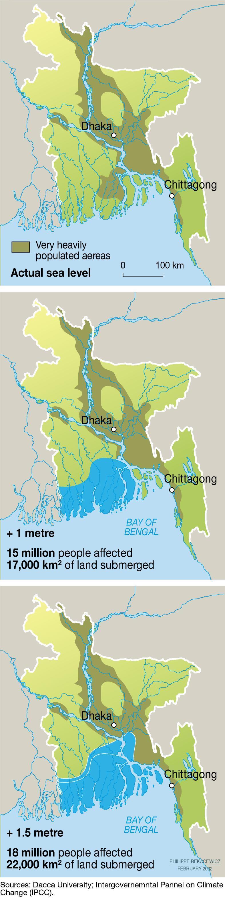 Impact Of Sea Level Rise In Bangladesh