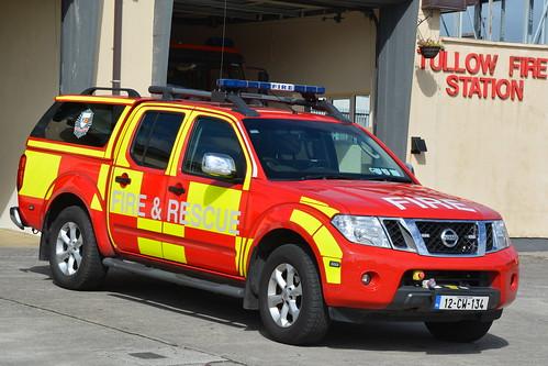 Carlow Fire & Rescue Service 2012 Nissan Navara Wilker L4V 12CW134
