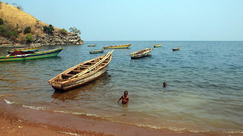 Lake Tanganyika, TANZANIA, July 2013