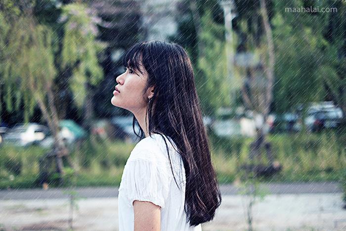 PicsArt Rain Effect