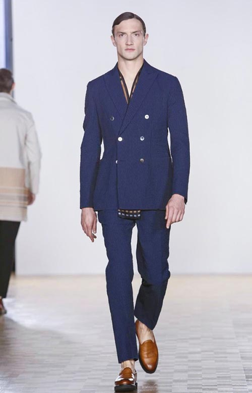 HARDY AMIES MENSWEAR SPRING/SUMMER 2016 LONDON