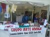 Alegria na Feira de Economia Solidária no Festival Percurso Zona Sul SP