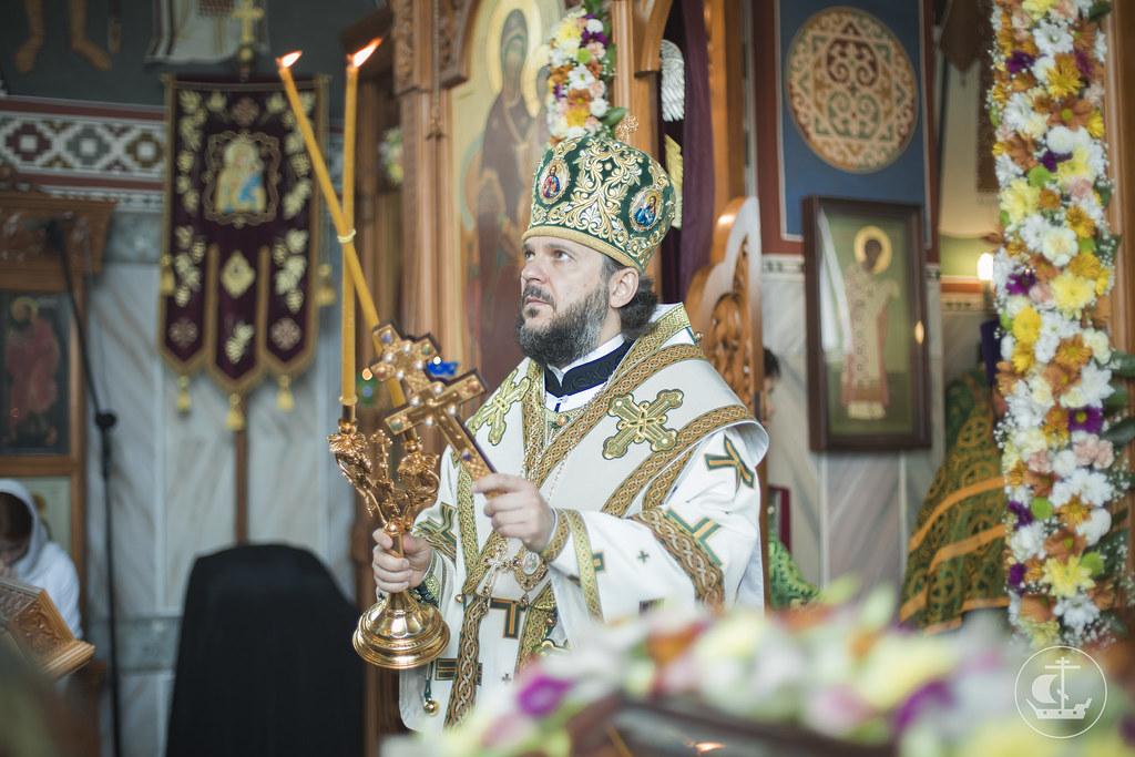 14 июня 2015, Литургия в храме святого праведного Иоанна Кронштадтского / 14 June 2015, Divine Liturgy in the Church of St. John of Kronstadt