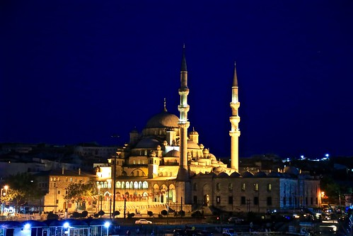 New Mosque at night
