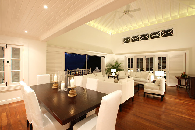 Living and Dining Rooms at Sugar Beach Residences