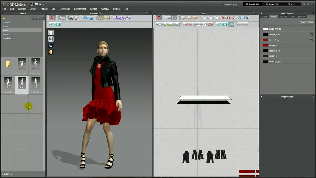CLO3D Modelist 2 2 95 – Virtual fit models design software   macOS