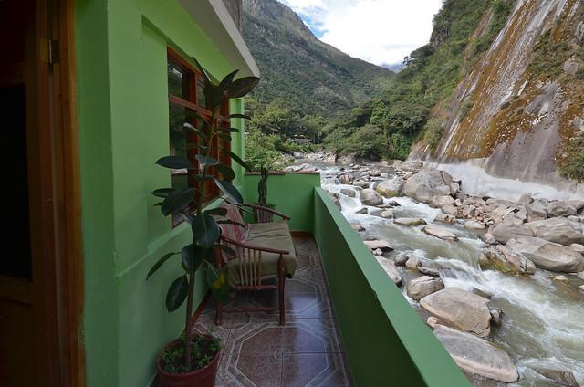 Nuestro hostel en Machupicchu