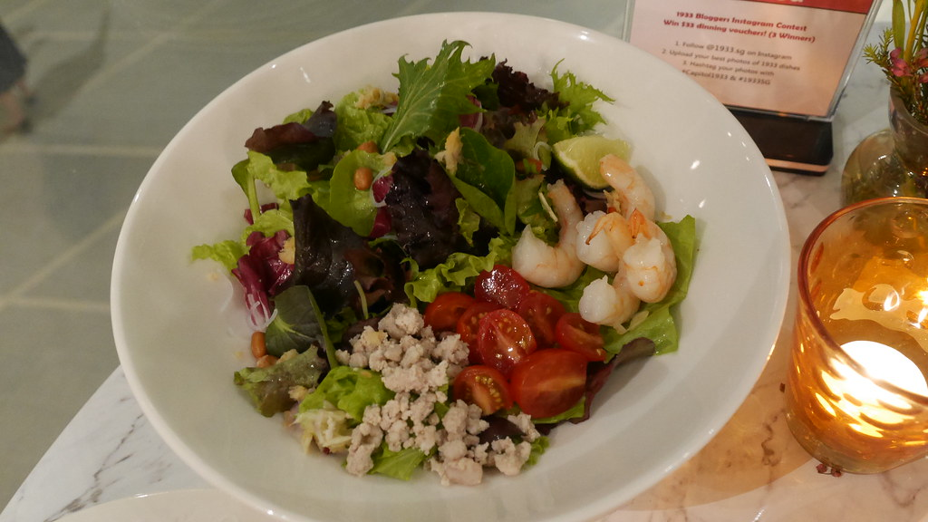 Sawadee greens salad (S$14.90)