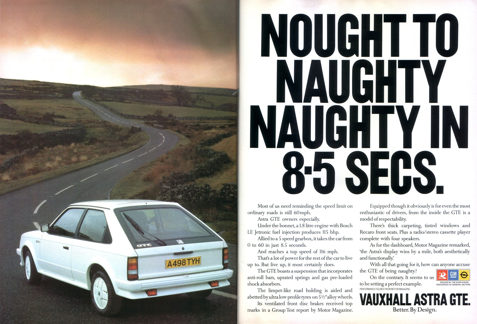 The Amazo Effect  Commercial Break  Vauxhall Astra Gte  1984  Uk