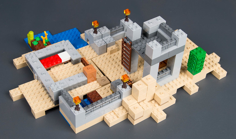 Review - 21121 LEGO Minecraft:Desert Outpost από EUROBRICKS 19546145328_26ffe1d737_c