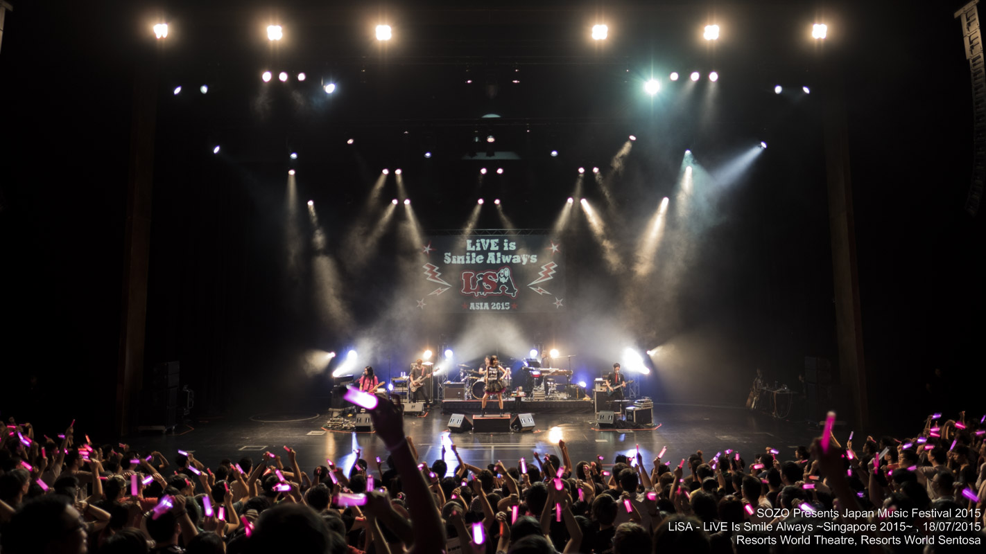 LiSA ~ LiVE is Smile Always ~ Singapore 2015 Event Photos