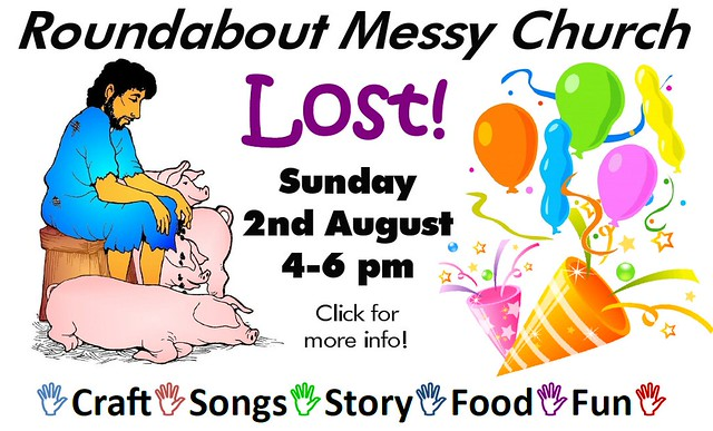 Roundabout Messy Church: Lost (2nd August 2015, 4-6pm)