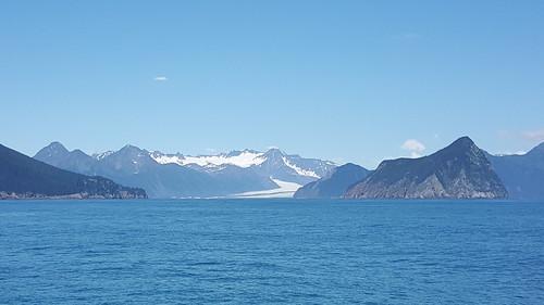 That's our destination: Aialik Glacier