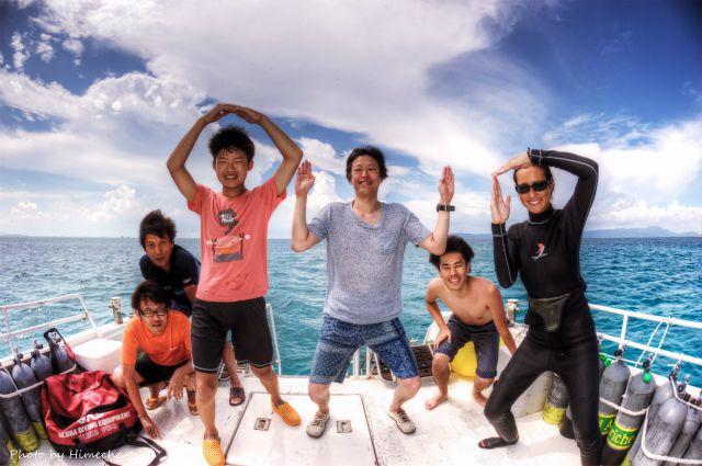 本日の集合写真♪ 2015/07/28