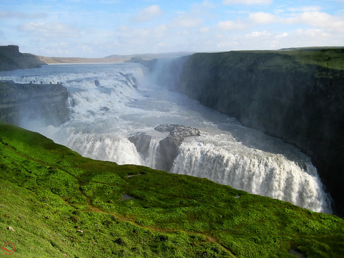 Gulfoss waterfall (Iceland)