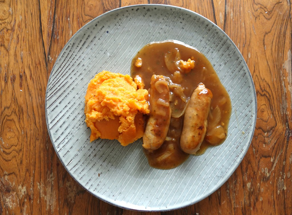 Kirsty's Gluten Free Ready Meals - Sausage and Sweet Potato Mash
