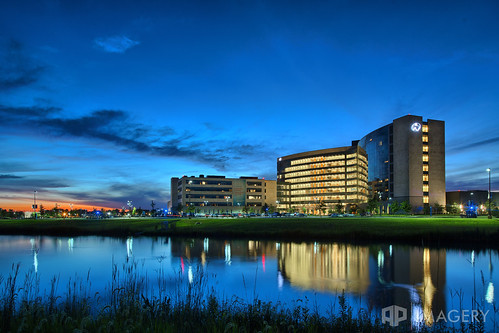 commercial hospital ky kentucky ohrh omhs owensboro realestate sunset architecture building healthsystem medical regionalhealth twilight