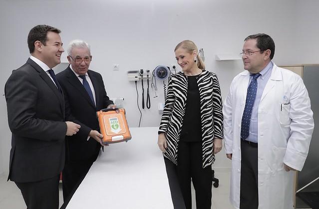 Inauguración del nuevo Centro de Salud de La Marazuela de Las Rozas