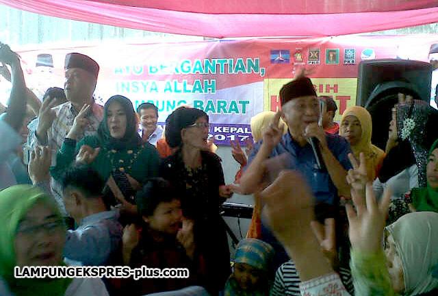 Pilkada Lambar, Jika Terpilih Edy-Pai Ogah Jadi Ketua Parpol
