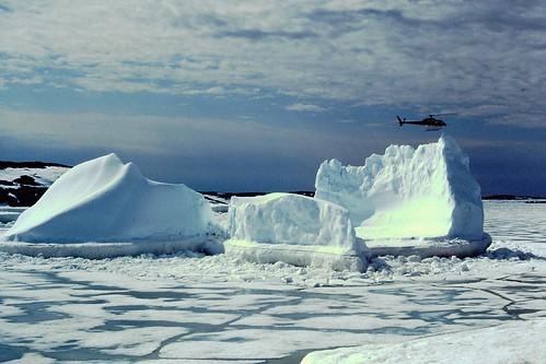 Baffin Island 1996 Markham Bay iceberg
