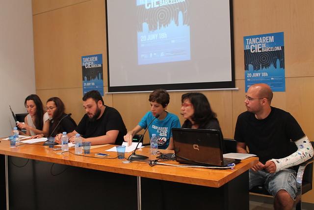 Roda de premsa. Presentació 20J #CIEsno