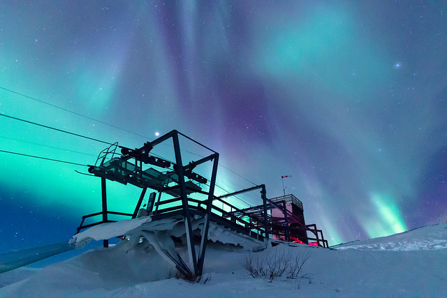 Colours are emotions! Aurora sky station, Abisko national park, Sweden