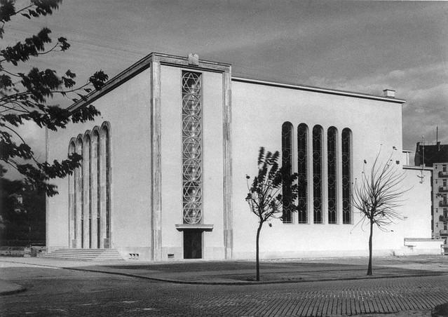 466 Lágymányosi zsinagóga 1936 - XI. Lenke út--