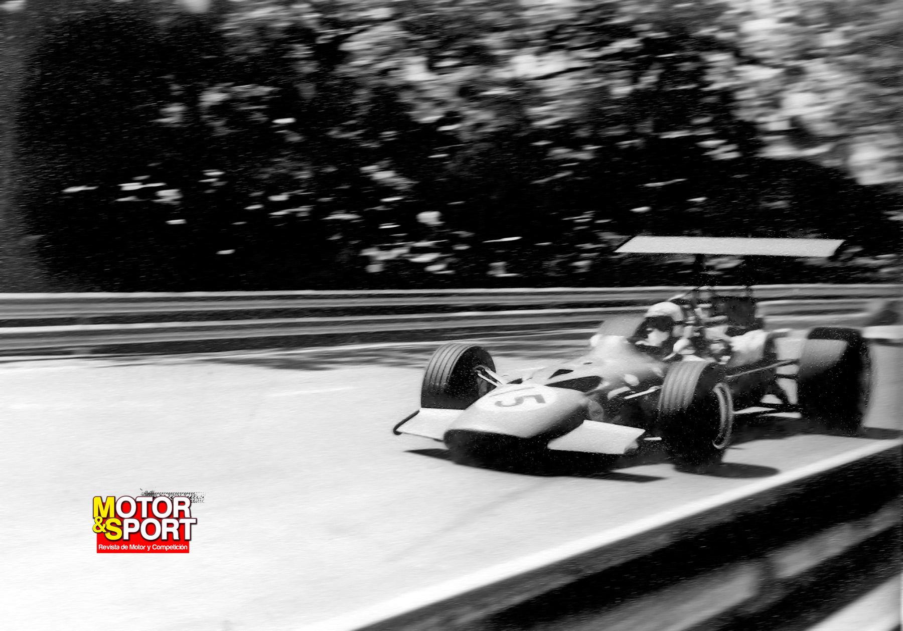 Numero 3. Gran Premio de España de Formula 1 1969 18797035089_a00cb1f793_o