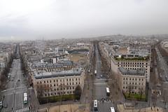 Blick vom Arc de Triomphe 10