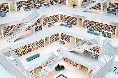 Stuttgart Public Library, Germany