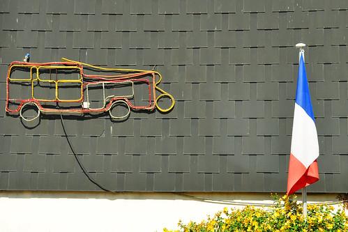 Yport Normandie Seine-Maritime Alabasterküste Côte d'Albâtre Fischerhafen, Spielcasino Meer Strand Kreidefelsen Falaises Impressionisten-Straße Guy de Maupassant Ein Leben oder Die schlichte Wahrheit Une vie ou L'Humble Vérité Foto Brigitte Stolle 2015