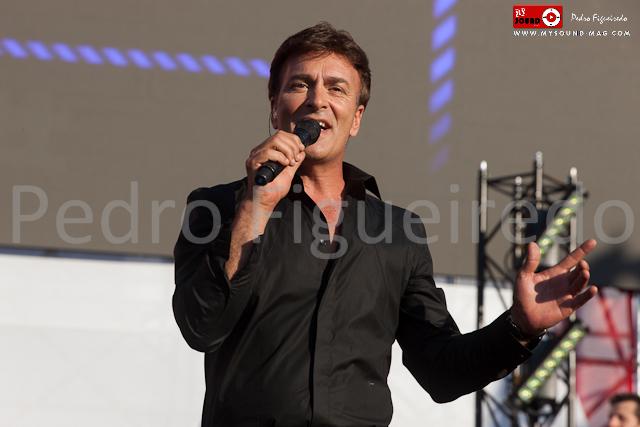 Tony Carreira na Feira de São tiago 2015