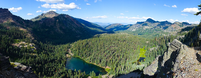 Cliff Lake, Marble Mountain Wilderness