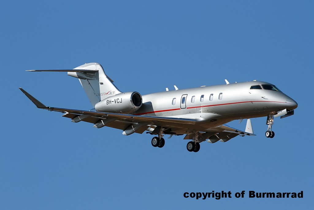 9H-VCJ - CL35 - VistaJet