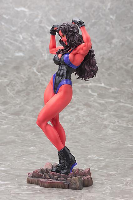 壽屋 MARVEL 美少女系列【紅女浩克 SDCC 限定】Red She-Hulk 1/7 比例 全身雕像