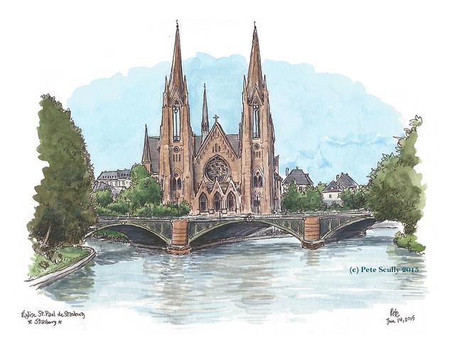 Eglise St Paul, Strasbourg