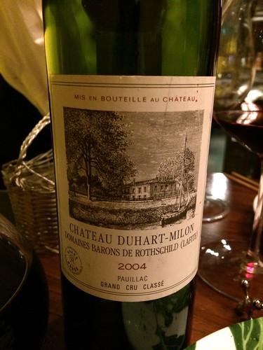 2004 Château Duhart-Milon@Maro Sun (マロサン)