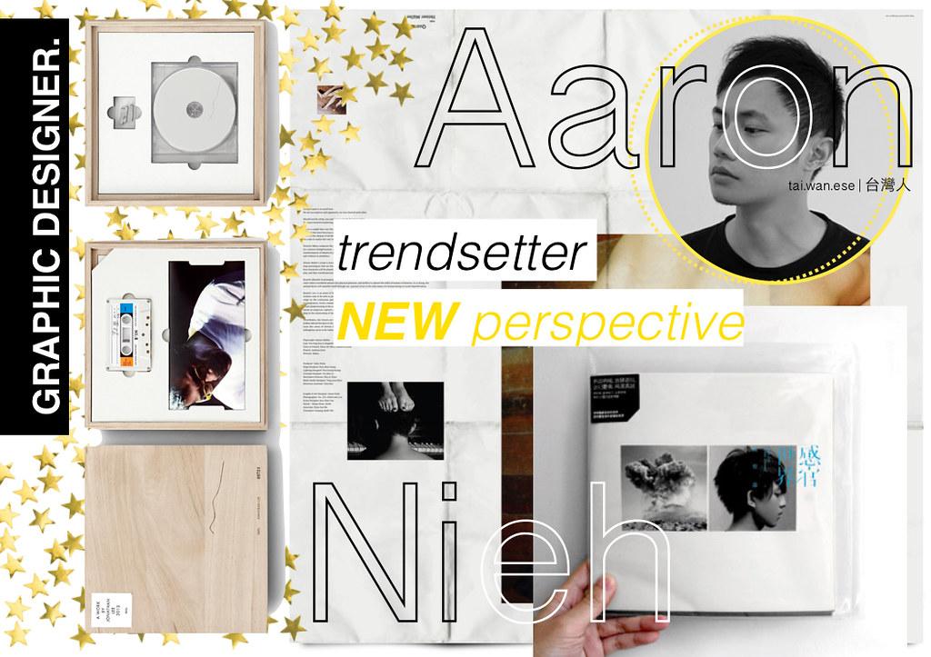 Graphic Designer - Aaron Nieh