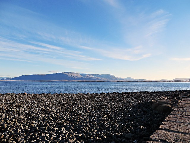 reykjavik harbour, iceland on a budget, how to save money in iceland, free stuff in iceland