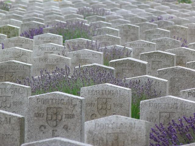 Cementerio portugués de Richebourg (Norte de Francia)