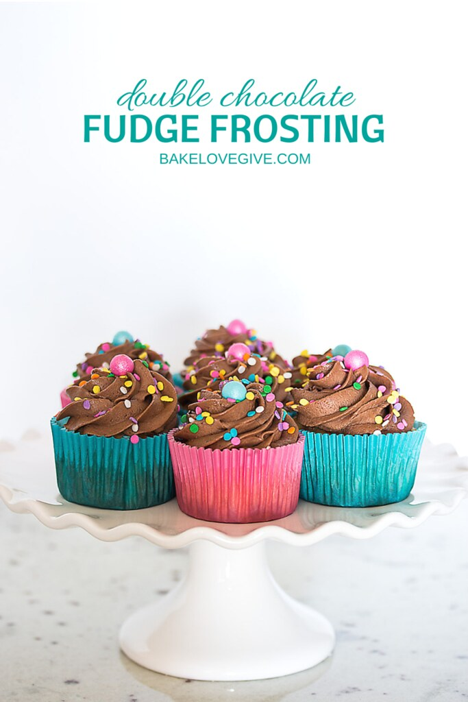 Rich and Creamy Double Chocolate Fudge Frosting Recipe
