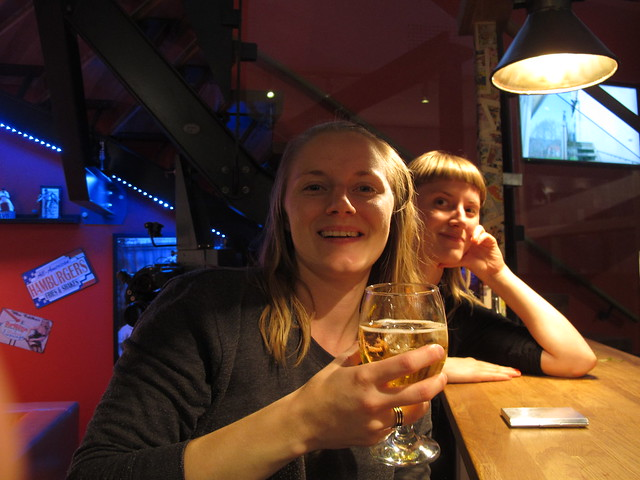 beer with friends, karlskrona