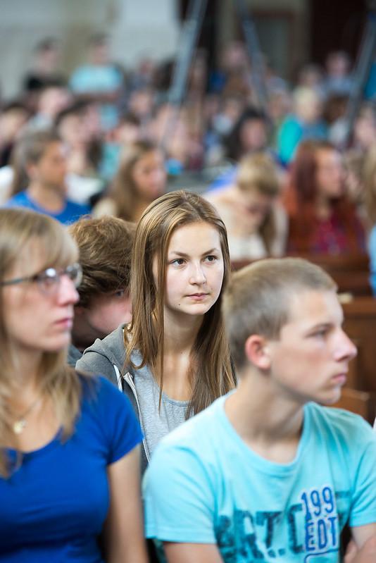 Národné stretnutie mládeže P15 1.8.